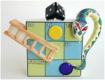 Snakes and Ladders Teapot