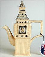 Big Ben Shaped Lg Teapot